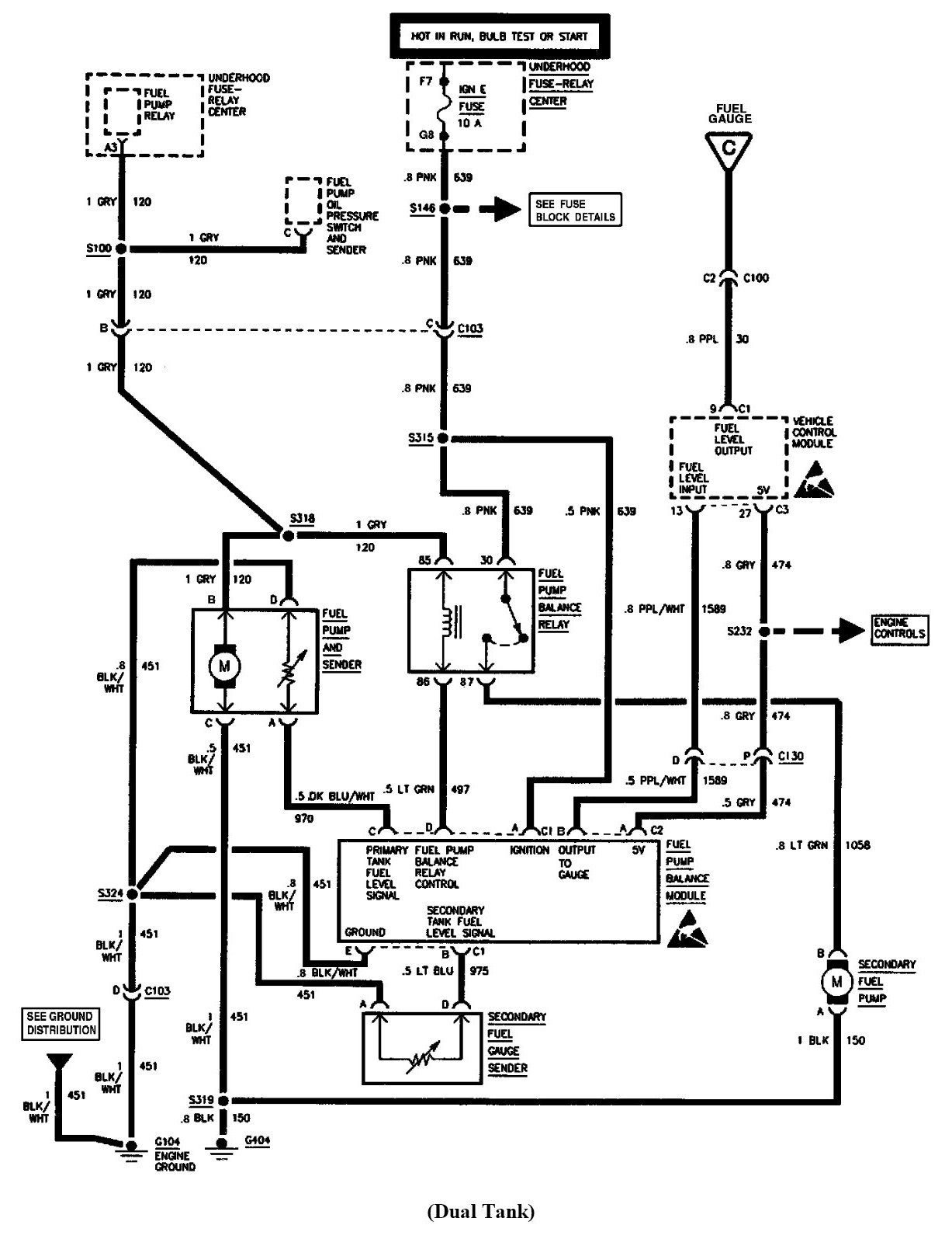 Wiring Diagram For Gmc Serria Intank Fuel Pump
