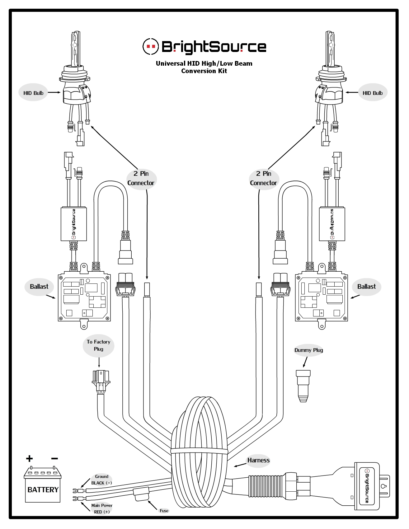 Universal Wiring Harness Diagram