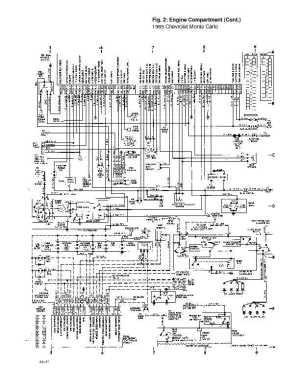 1995 Chevrolet Monte Carlo Complete Wiring Diagrams   plete wiring diagrams catalogues