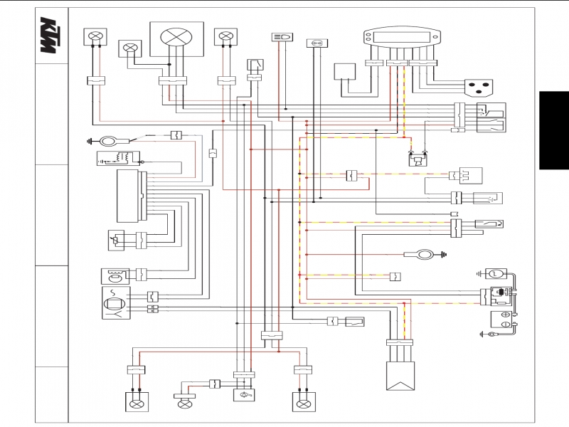 2015 KTM 500 Wiring Diagram Diagrams Schematics 450 Exc: KTM 500 Exc Wiring Diagram At Shintaries.co