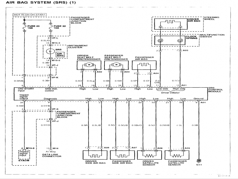 2002 Hyundai Elantra Wiring Diagram - Wiring Forums