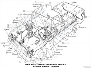 1964 Ford Truck Wiring Diagrams  Fordification  The '61