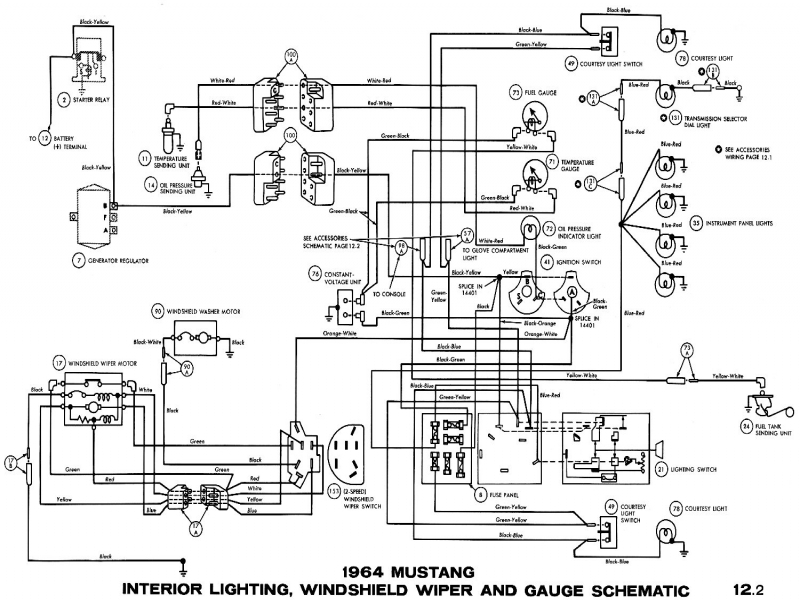 57 65 ford wiring diagrams with images