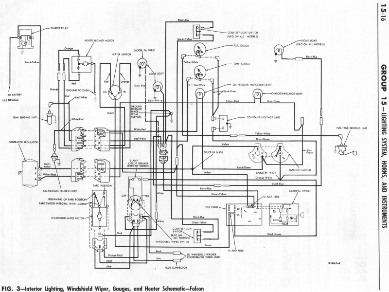 1959 ford f100 wiper motor wiring diagram