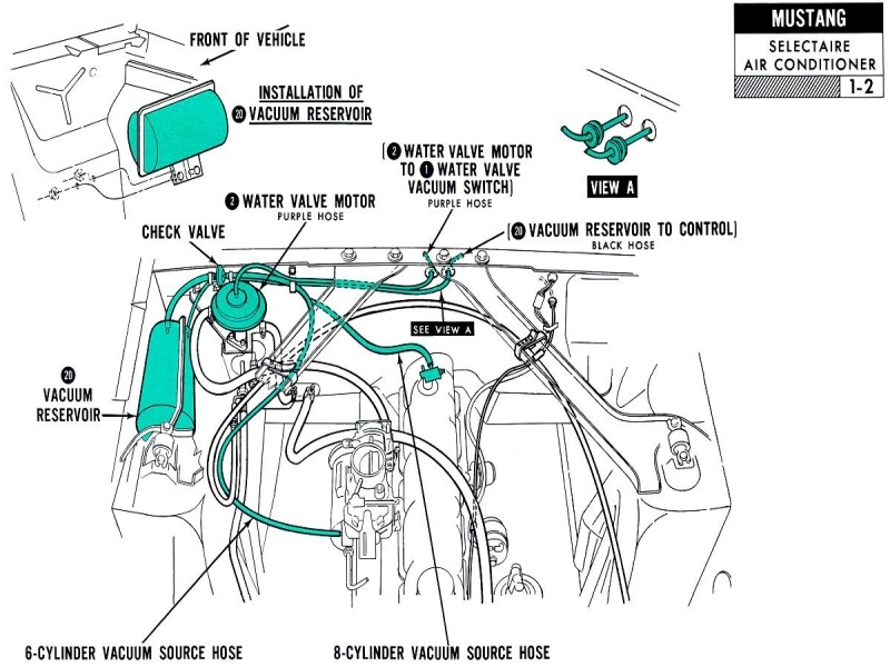 1976 Ford Vacuum Routing Diagram Get Free Image About Wiring Diagram