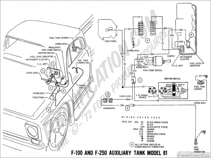 Chevy Truck Dual Tank Fuel Wiring Diagram