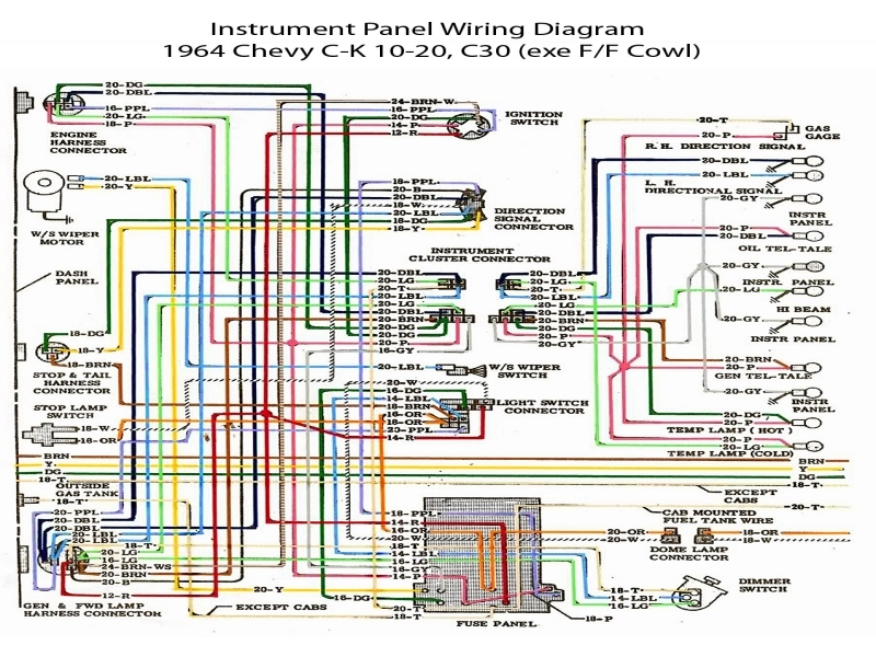 72 chevy truck wiring diagram 1972 chevrolet truck wiring diagram - wiring forums