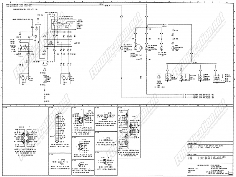 1995 ford f350 steering column diagram - wiring forums 1973 ford truck wiring diagram