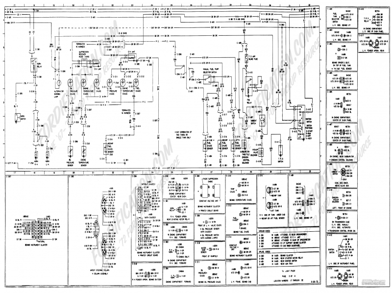 1978 land cruiser wiring diagram