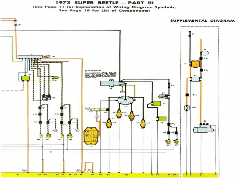Wiring Diagram 1974 Vw Super Beetle - Wiring Forums
