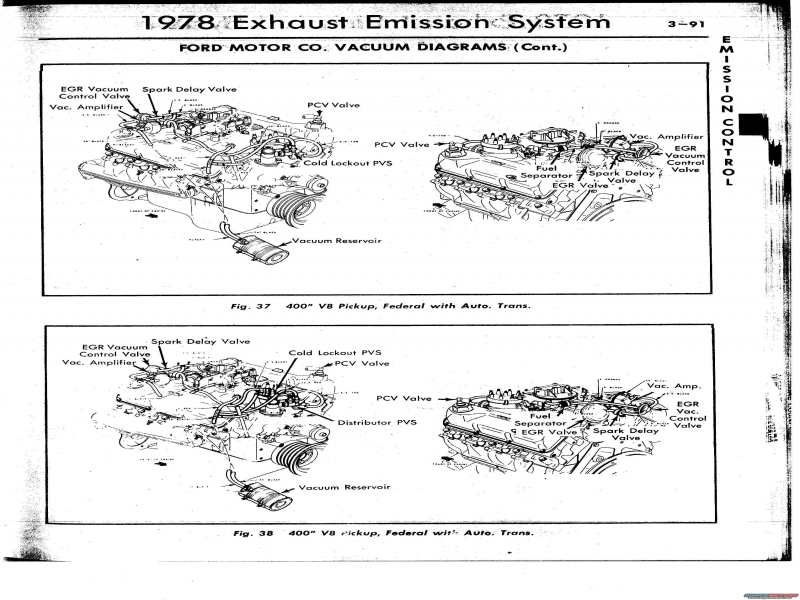 1978 F250 400 Vacuum Diagram - Page 2 - Ford Truck Enthusiasts Forums