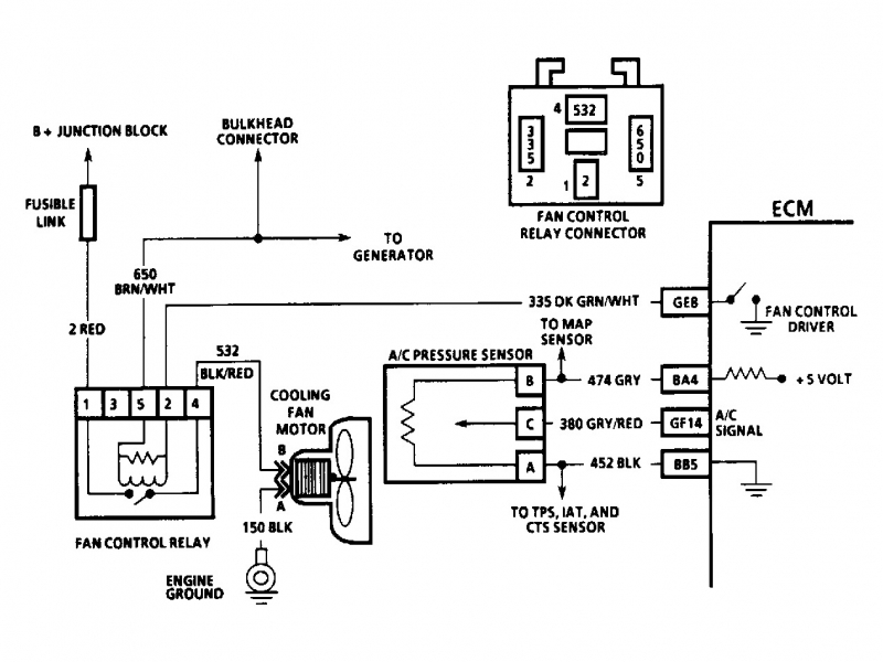 1992 Chevy Cavalier Fuse Box Diagram  Wiring Forums