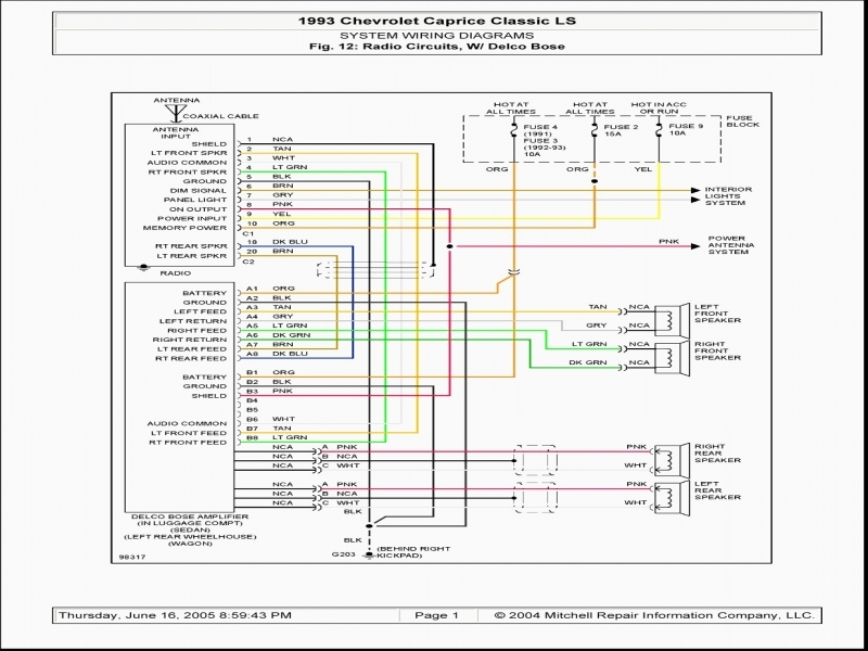 1994 Toyota Pickup Radio Wiring Diagram