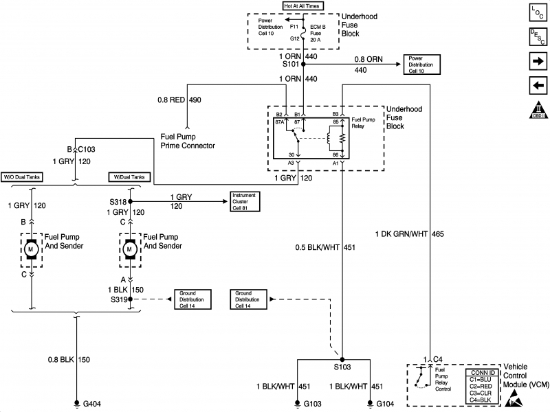 1998 Chevrolet Wiring Diagram