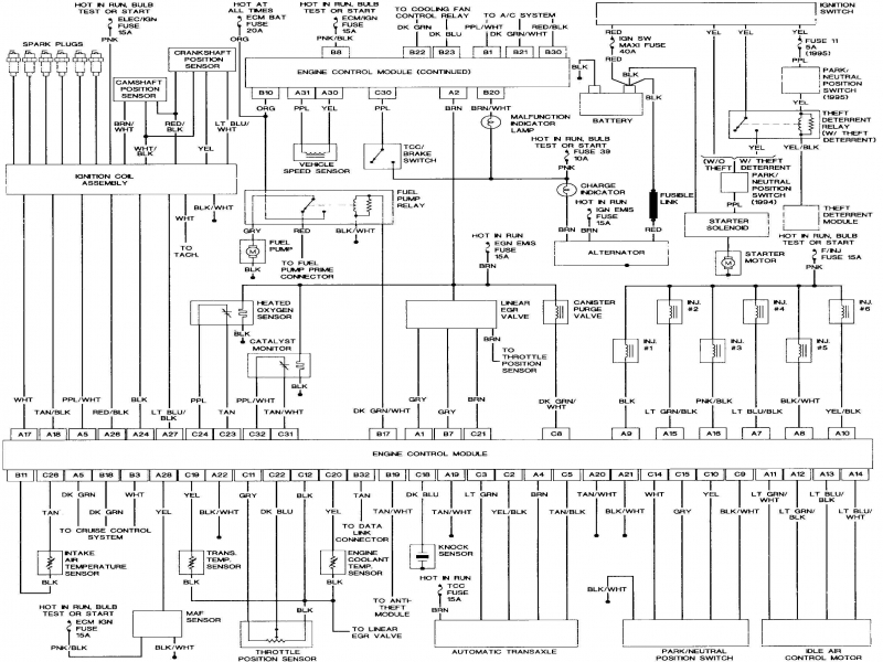 [DIAGRAM] 1997 Buick Lesabre Radio Wiring Diagram FULL