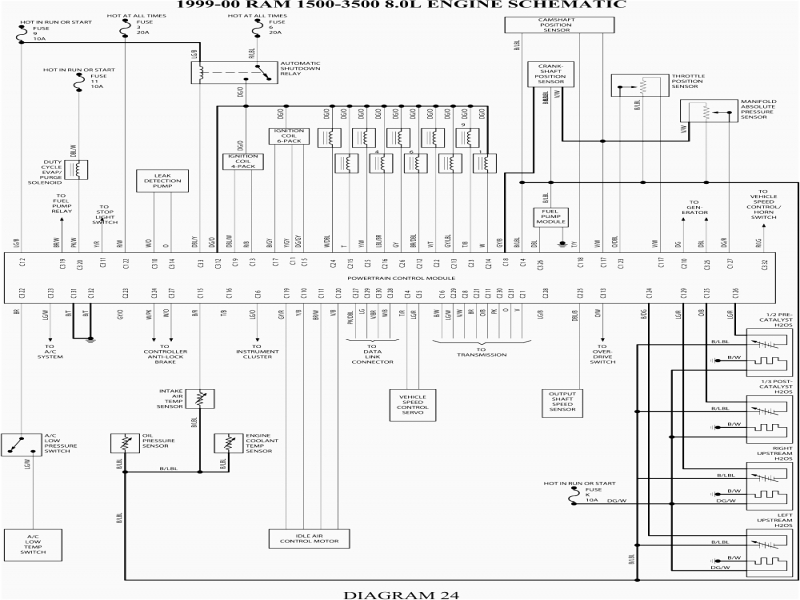 1999 dodge ram radio wiring diagram