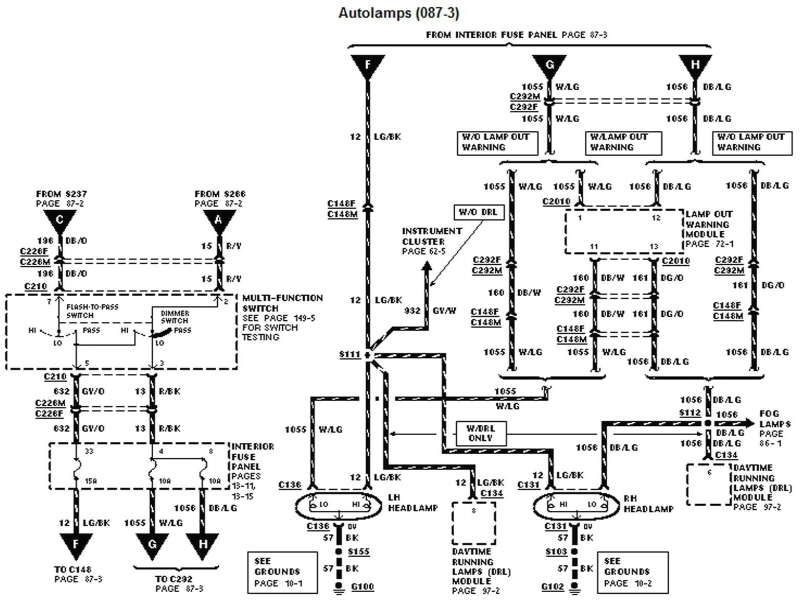 Dodge Headlight Switch Wiring Diagram Wiring Forums