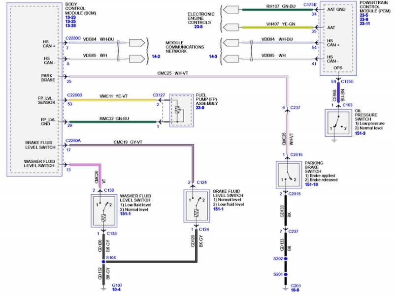 2002 Ford Focus Radio Wiring Diagram  Wiring Forums