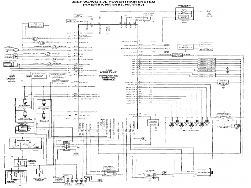 98 Jeep Grand Cherokee Stereo Wiring Diagram Diagram Base