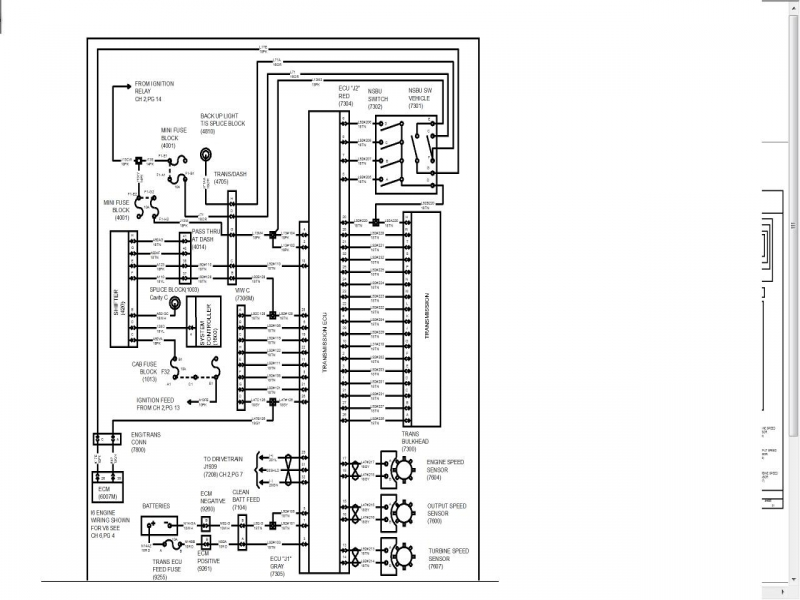 International 4300 Wiring Diagram