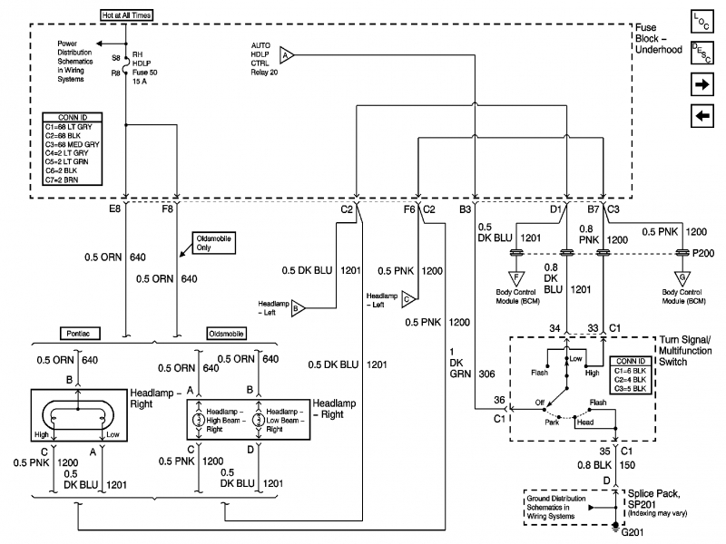 2000 Pontiac Grand Am Wiring Diagram