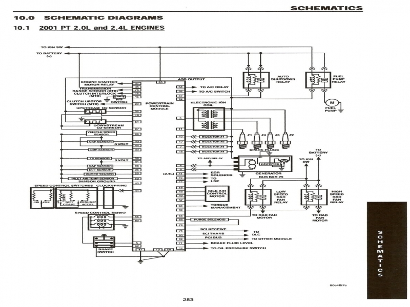 Pcm Wiring Diagram Chrysler Pacifica  Wiring Forums