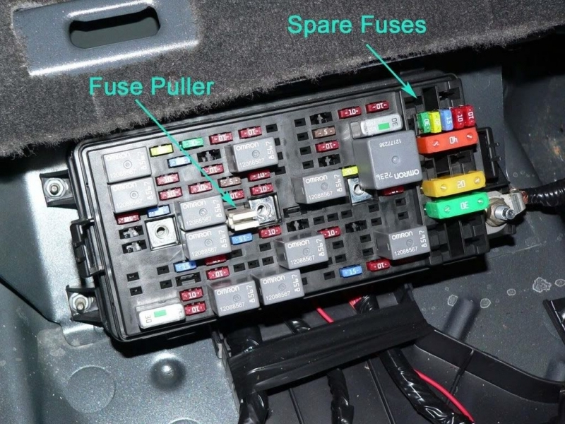 2003 Pontiac Grand Am Fuse Diagram