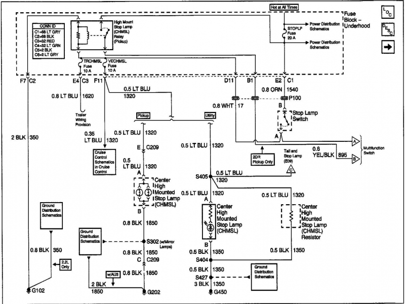 Chevrolet Light Wiring Diagram