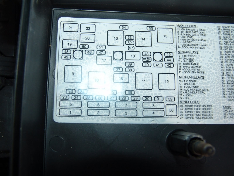 2007 chevy malibu fuse diagram chevy malibu fuse diagram dash lid 2010 chevy malibu instrument panel fuse box diagram ... #4