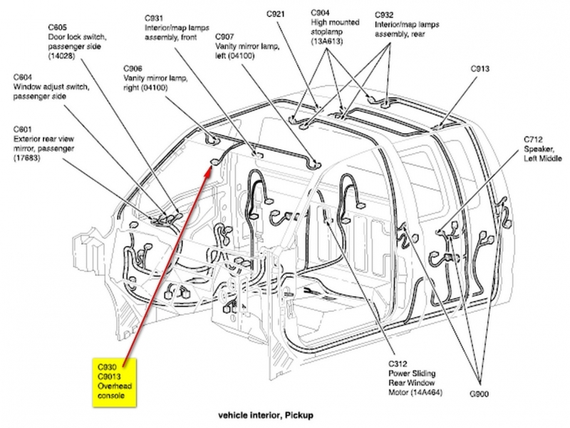 2013 F 150 Rear View Mirror Wiring Diagram Wiring Forums