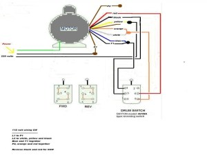 3 Speed Blower Motor Wiring Diagram  3 Speed 230 Vac