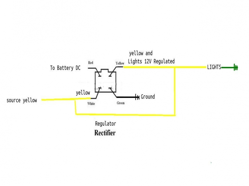 3    Wire    Rectifier    Regulator       Wiring       Diagram        Wiring    Forums