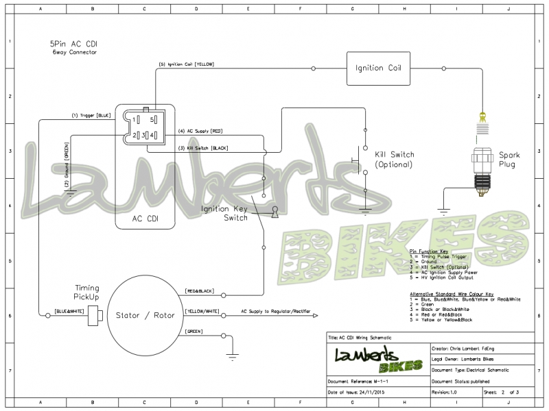 Honda 5 Pin Cdi Box Wiring Diagram