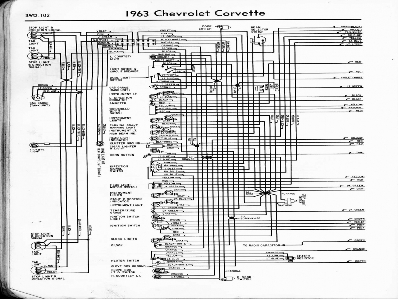 1985 chevrolet corvette wiring schematic wiring forums. Black Bedroom Furniture Sets. Home Design Ideas