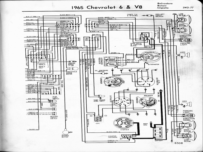 Wiring Diagram For 1966 Chevy Impala  Wiring Forums