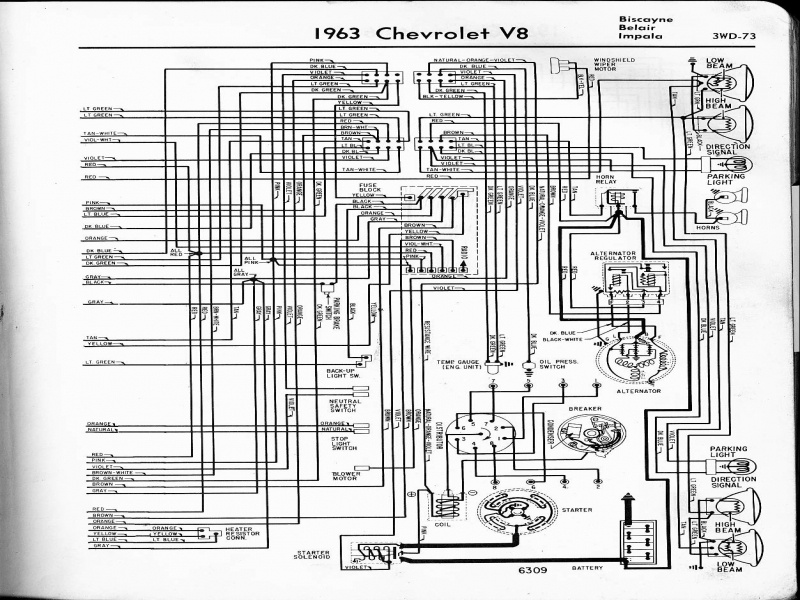 1963 chevy impala wiring diagram 1963 chevy pickup wiring diagram