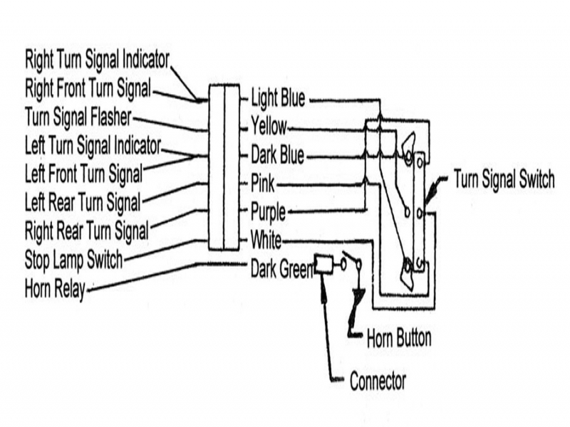 1957 Chevrolet Turn Signal Wiring Diagram Html
