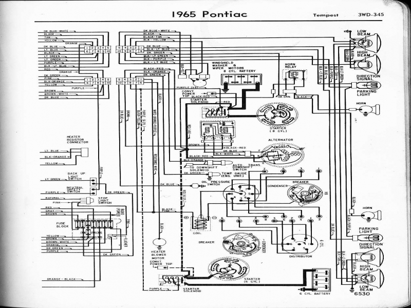 1967 Pontiac Firebird Wiring Diagram  Wiring Forums