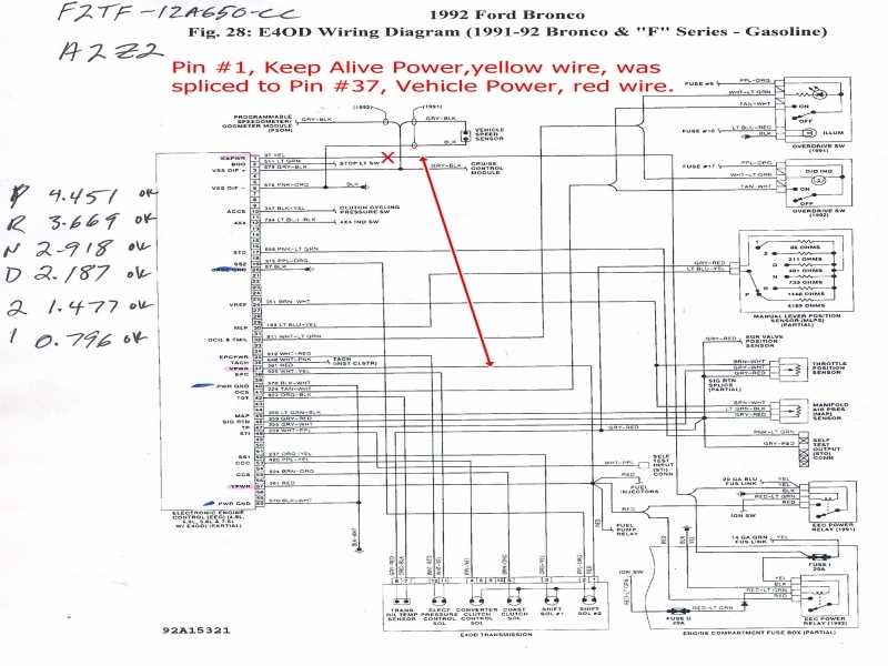 Search Ford F Radio Wiring Diagram Amazing 1991 F53 Chis