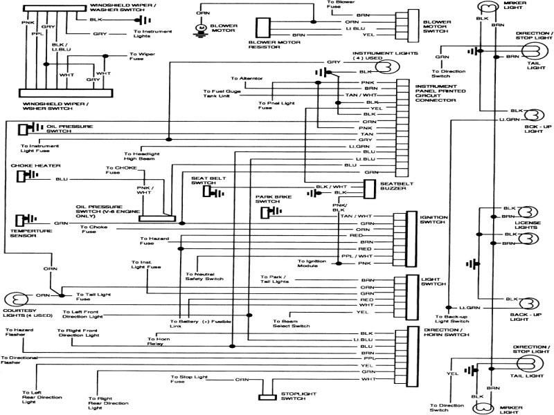 95 Chevy Steering Column Wiring Diagram Radio And 1962