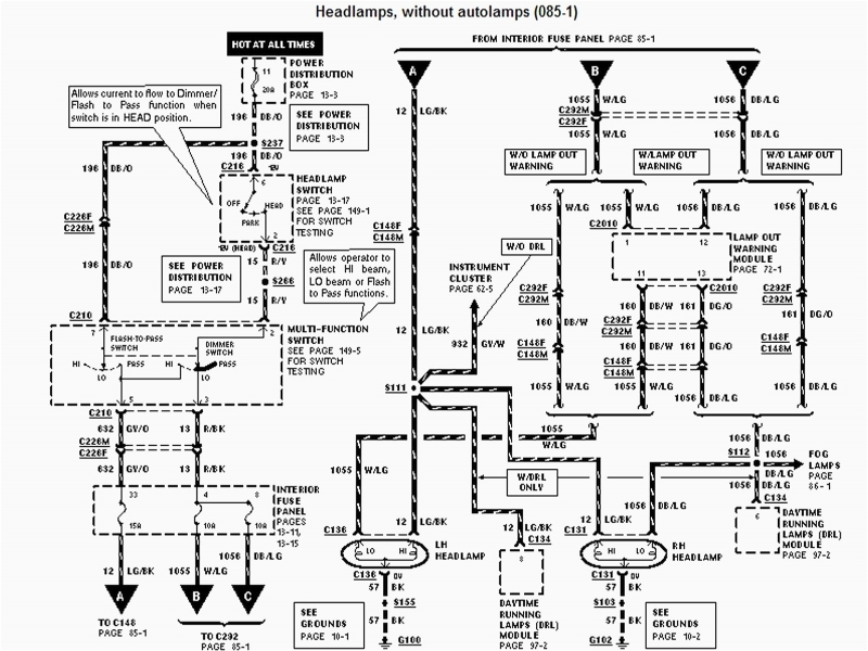 Headlight Wiring Diagram For 2007 Dodge 2500