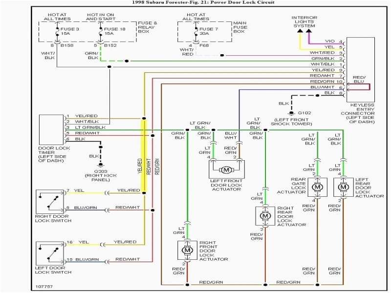 1999 Subaru Legacy Outback Wiring Harness : Subaru forester stereo wiring diagram forums