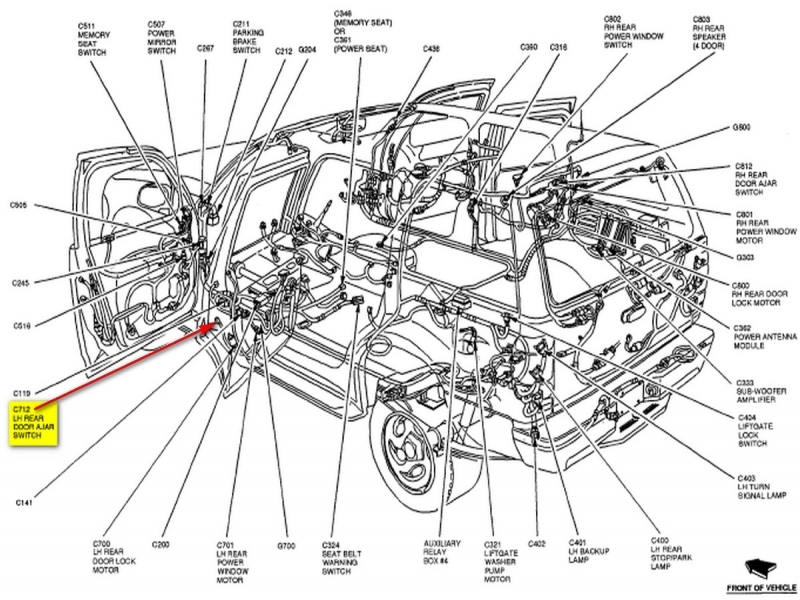 2002 lincoln continental wiring diagram lights html