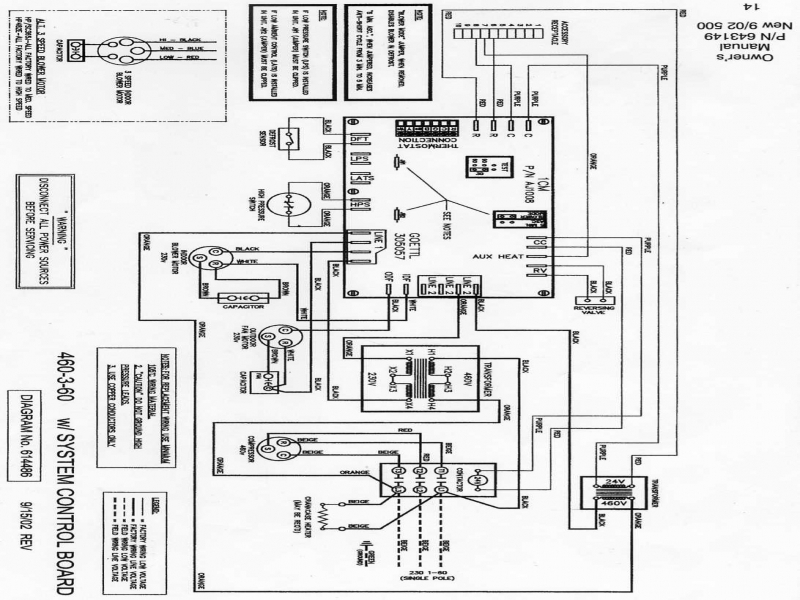 icp heat pump wiring schematic