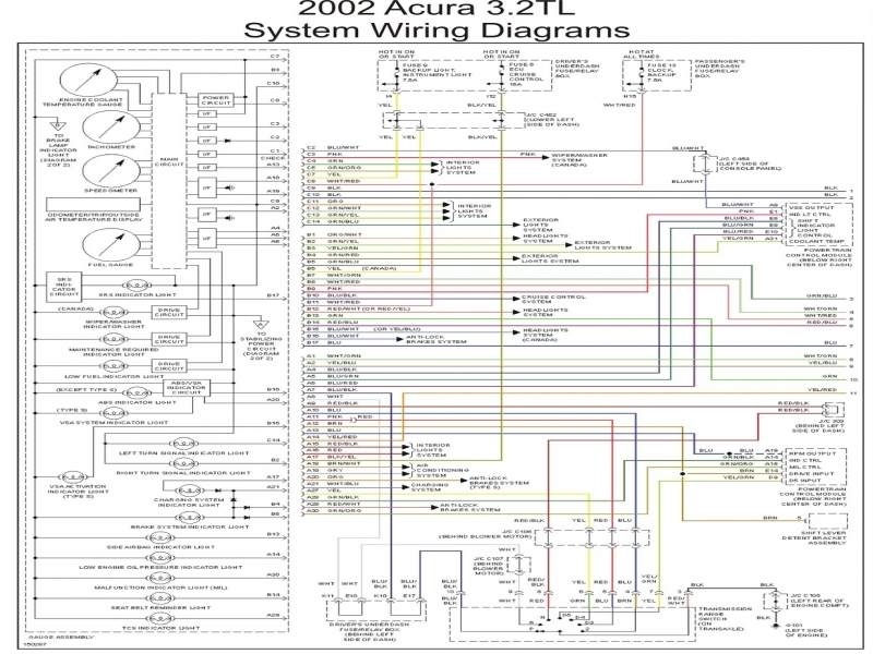 acura rsx bose amplifier wiring diagram 2000 acura tl bose lifier wire diagram - wiring forums #7