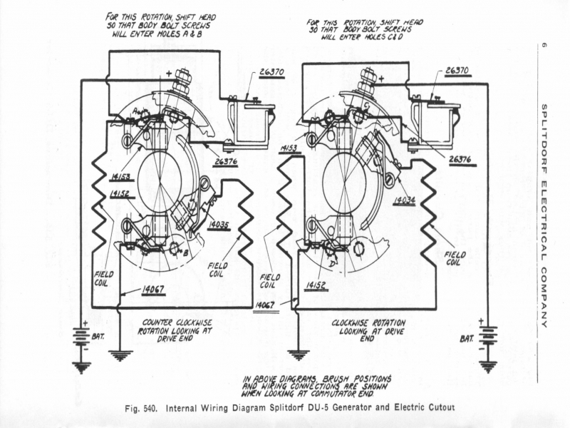 alternator winding diagram