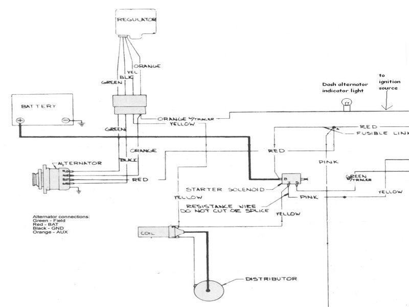 case charging system wiring diagram wiring forums