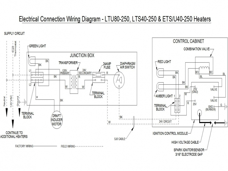 Infrared Heater Wiring Diagram