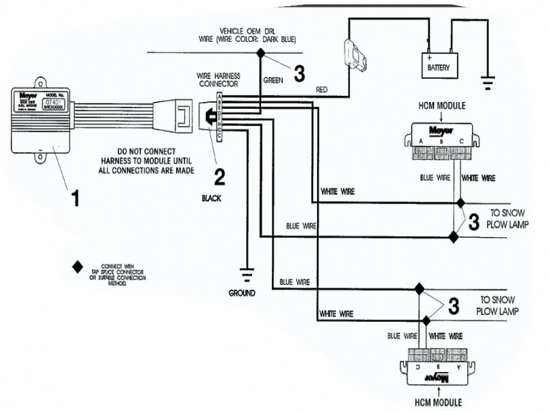 Boss Snow Plow Wiring Diagram. Boss. Free Wiring Diagrams