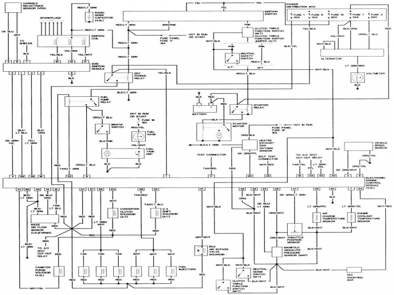 1989 FORD F600 WIRING DIAGRAM  Auto Electrical Wiring Diagram